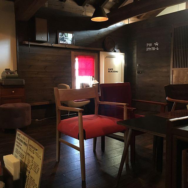 三春の町中にあるカフェに行ってきました!外観は蔵で中はこんな感じ☆ご飯美味しかったですよー!#リムヘアー#ルシード スタイルリム#郡山リムグループ